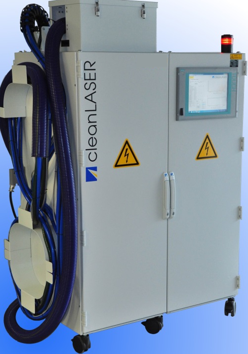 demo čisticího laseru