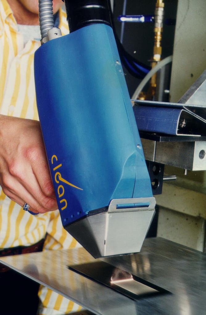 Ruční laserové čištění