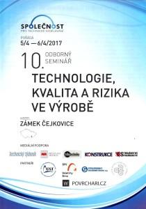 Technologie, kvalita a rizika ve výrobě